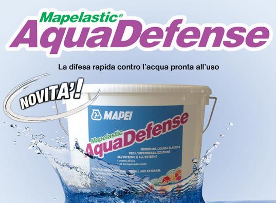 Prodotti chimici e premiscelati materiale edile for Guaina calpestabile mapei